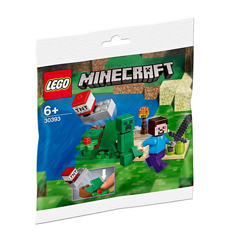 Lego Minecraft 30393 – Steve and Creeper Set