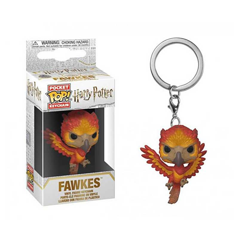 Klíčenka Funko POP! Harry Potter - Fawkes