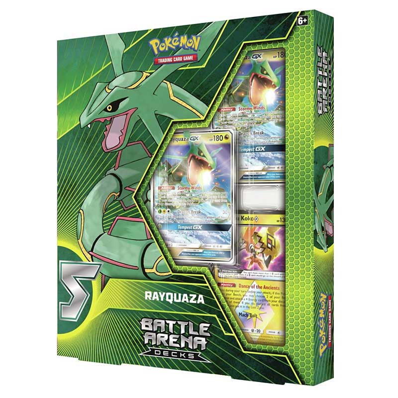Pokémon TCG: Battle Arena Decks - Rayquaza vs. Ultra Necrozma-GX