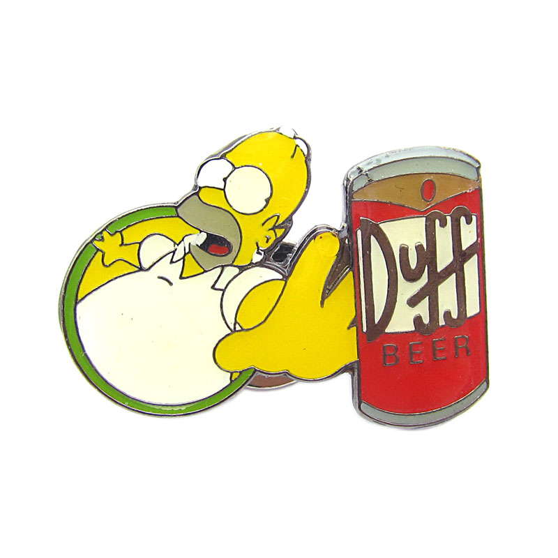 Brož The Simpsons - Duff beer