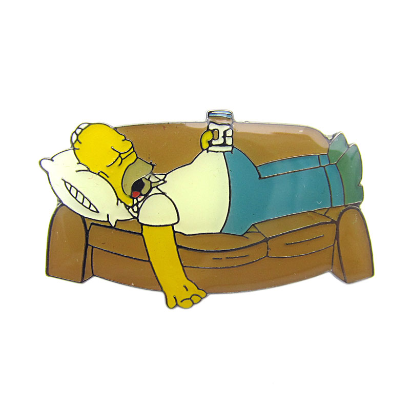 Brož The simpsons - Homer sleeps