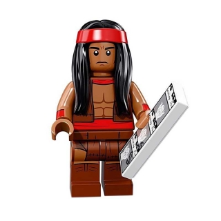 LEGO 71020 Minifigurka Apache Chief Batman MOVIE 2