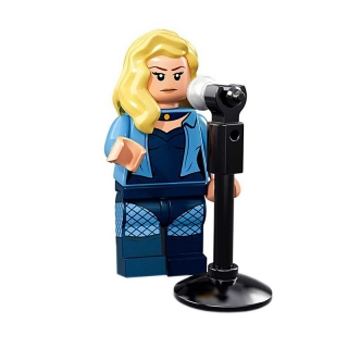 LEGO 71020 Minifigurka Black Canary Batman MOVIE 2