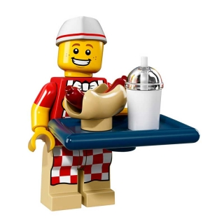 LEGO 71018 Minifigurka 17. série – Hot Dog Man